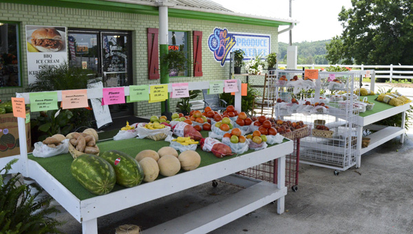 Jemison Sno Biz and Fireworks offers a variety of items to make your summer complete. (Photo by Anthony Richards)