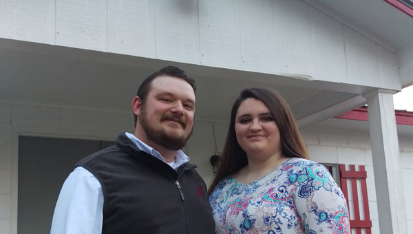 The Rev. Tyler and Ashley Strawn are the pastors of Fresh Anointing Independent Church. (Photo by Steven Calhoun)